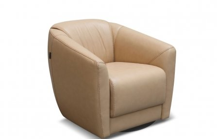 כורסא מעור מעוצבת
