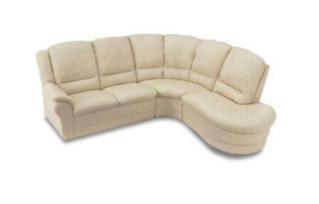 ספה פינתית לבנה מדגם ג'וניור
