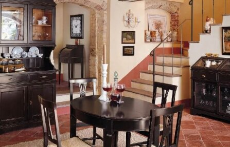 שולחן לסלון מעץ מלא