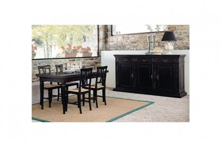 שולחן מעוצב לסלון שחור