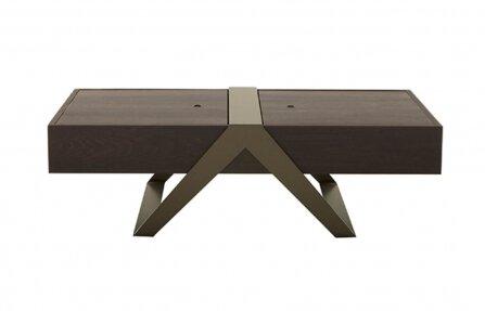 שולחן מעץ מלבני
