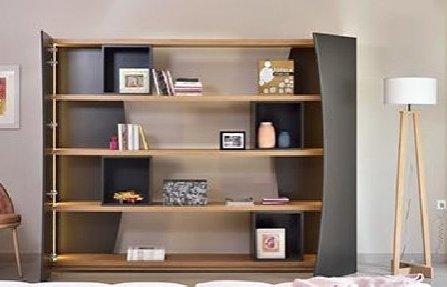 שידת מדפים גדולה Orbit bookcase